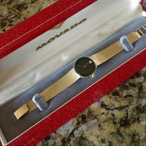 RARE Movado Zenith 14K Gold Watch